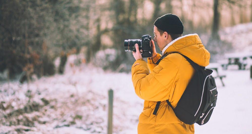 męska zimowa kurtka